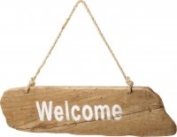 Hanging Welcome Sign by Parlane